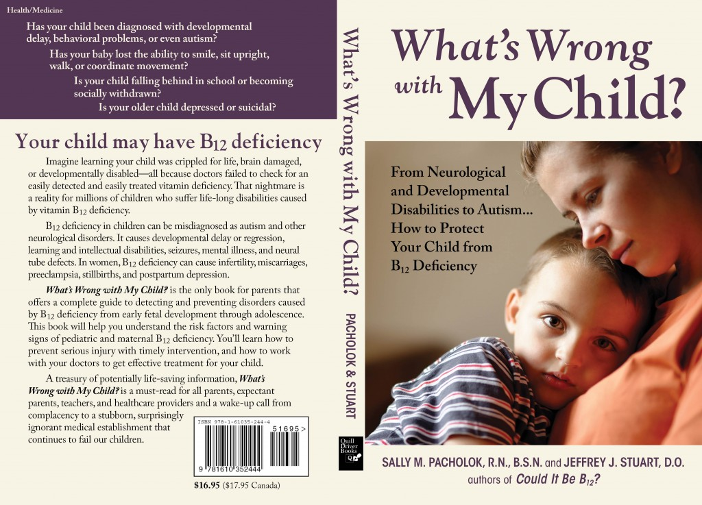 What's Wrong with My Child Cover Spread
